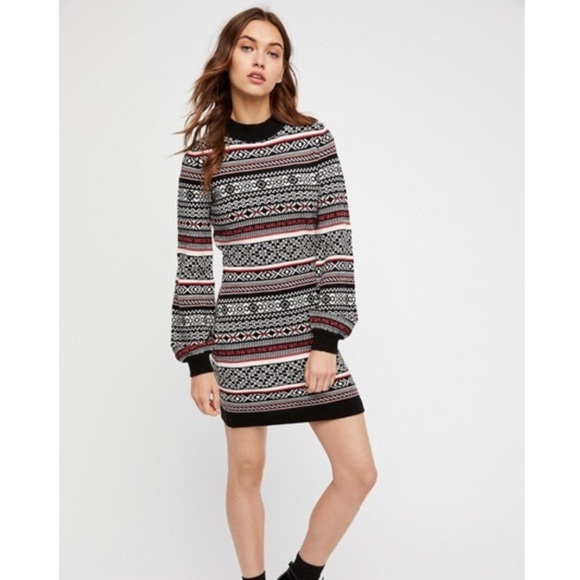 0b2827e26038 Free People by the Fire Sweater Dress